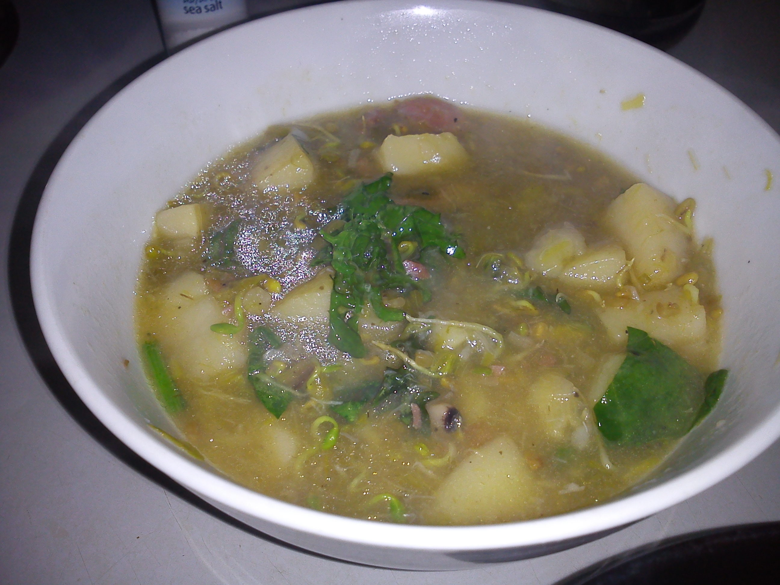Leafy Greens in Soup | goldcoastgardendiary
